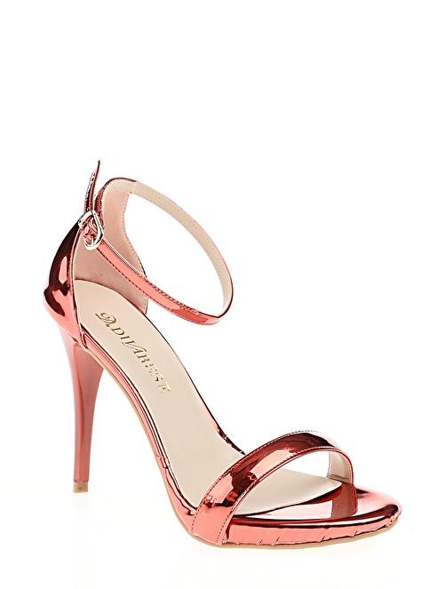 D by Divarese Abiye Ayakkabı Kırmızı
